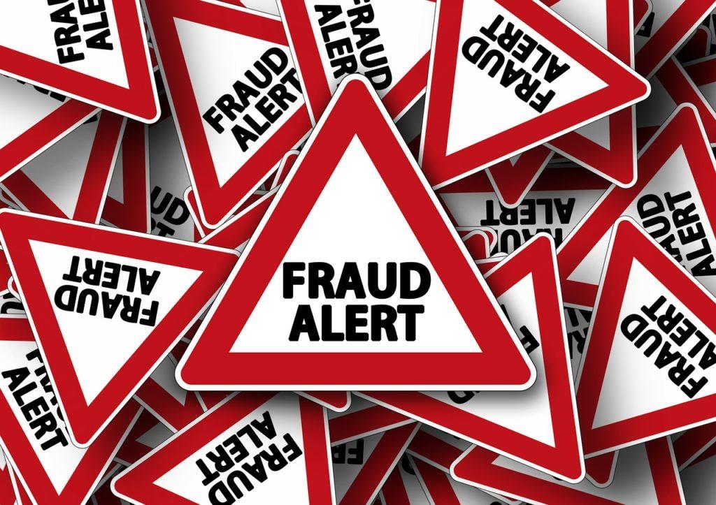 Fraud road signs