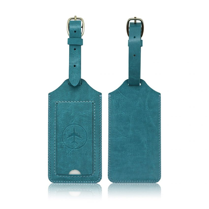 25 Travel Accessories for Women - Leather Luggage Tags